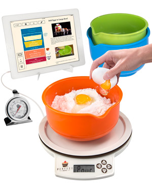 The perfect bake app controlled smart baking for Perfect drink smart scale and app