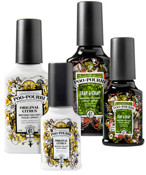 Poo-Pourri and Trap-a-Crap