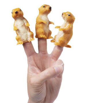 Prairie Dog Finger Puppet