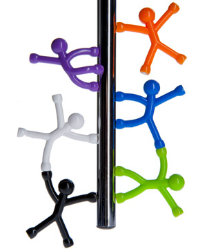 Q-Man Mini Flexible Magnets