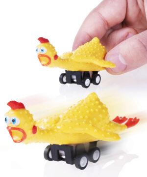 Racing Rubber Chicken