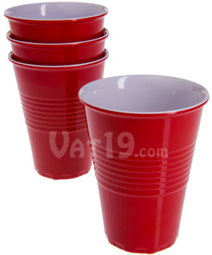 "Reusable ""Plastic"" Cups"