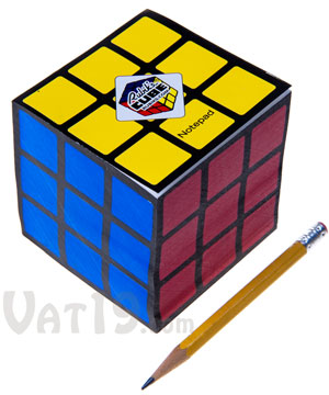 Rubik 39 S Cube Notepad Officially Licensed Notepad Includes