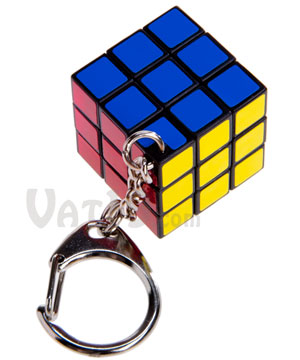 Rubik s® Cube Keyring  A fully functional Rubik s® Cube on your ... 58d0955008a2