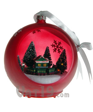 musical christmas ornament - Motorized Christmas Decorations