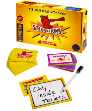 Stipulations Party Game