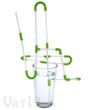 Strawz Connectible Drinking Straws