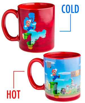 Super Mario Heat Change Mug 2