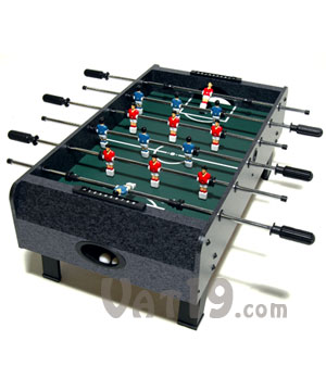 Tabletop Foosball Light And Portable Yet Tough Enough For Intense - Foosball table light