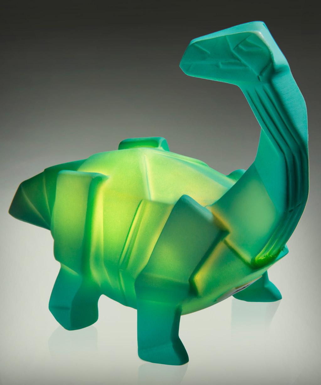 Usb Dino Lamp Light Up Dinosaur Styled Like Origami