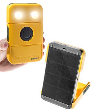 Waka Waka Solar Power Charger Light: Eco-friendly phone charger and  flashlight