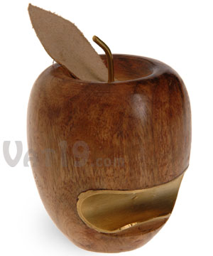 Wooden Apple Bottle Opener