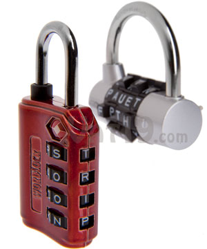 WordLock Luggage Locks and Padlocks