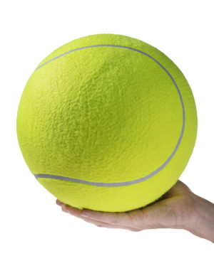 World S Largest Tennis Ball An Inflatable Jumbo Tennis Ball