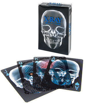 X Ray Deck Of Playing Cards Deceptively Translucent
