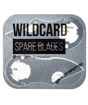 c86d454da4d Zootility WildCard  Thin knife and multi-tool for your wallet.