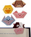 Magnetic Animal Bookmarks