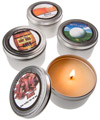Man Candles Scented Soy Candles