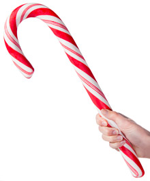 Giant Edible Candy Cane