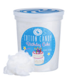Birthday Cake Cotton Candy
