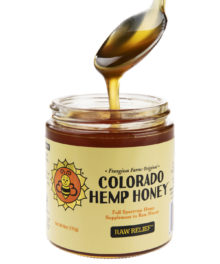 CBD Raw Honey