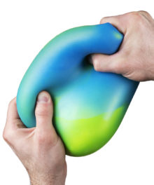 Giant Color-Morphing Stress Ball