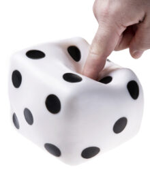 Giant Dice Stress Ball