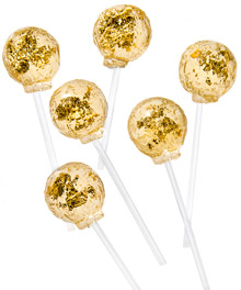 Gold Lollipops