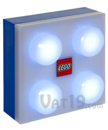 Blue LEGO® Portable LED Brick Light