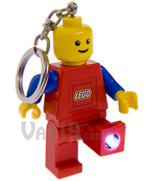 Red LEGO KeyLight Keychain