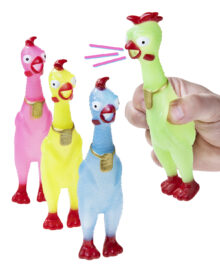 Mini Rubber Chickens
