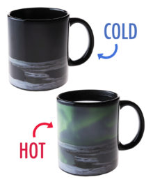 Northern Lights Heat Change Mug