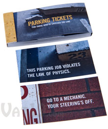 Parking Tickets Booklet