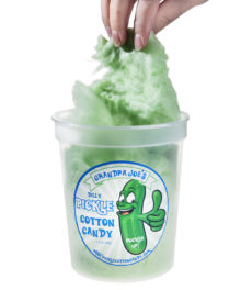 Pickle Cotton Candy