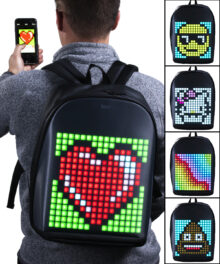Pixelated Smart Backpack