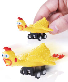 Racing Rubber Chicken