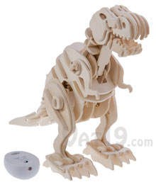 R/C Wooden Dinosaurs