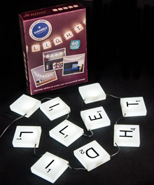 Scrabble Lights