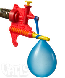 Water Balloon Filler & Tying Tool
