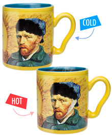 Van Gogh Heat Change Mug