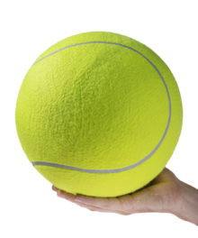 World's Largest Tennis Ball