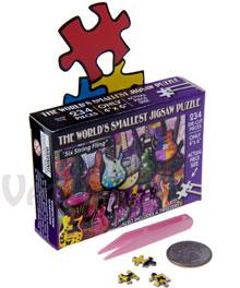 World's Smallest Jigsaw Puzzles
