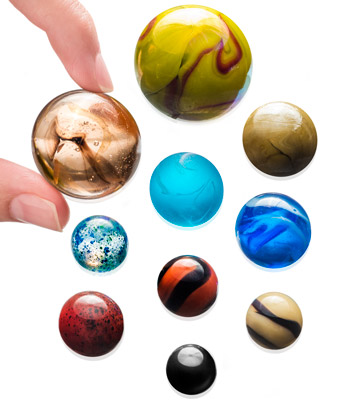 Solar System Marbles