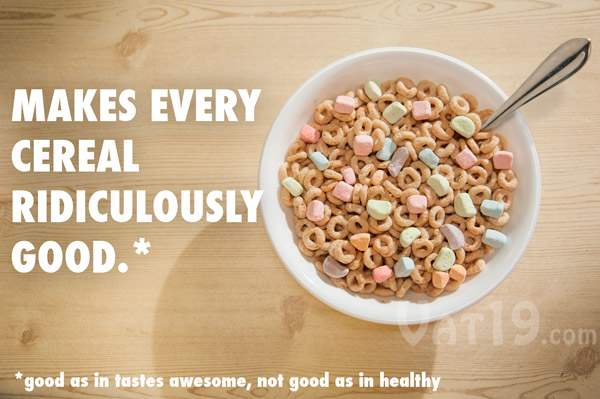 Crunchmallows crunchy cereal marshmallows just like the marshmallows in cereal but only the marshmallows ccuart Images