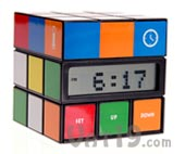 Cube Clock Time Mode