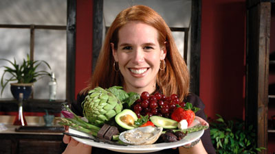 Cheryl Blevins, host of Cooking with Aphrodisiacs