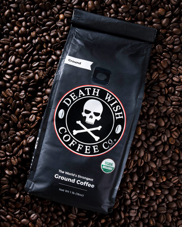 Death Wish is Fair Trade, Organic, and just plain delicious coffee.