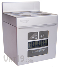 Silver DoneRight Kitchen Multi Timer