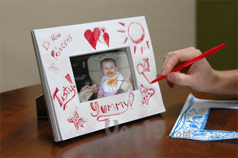 Doodlebook Picture Frame: Design your own picture frame... up to 80 ...