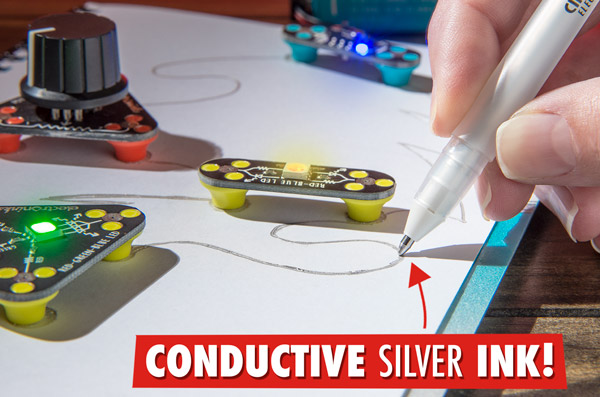 Draw Circuits: Easily create your own circuits using an amazing pen.